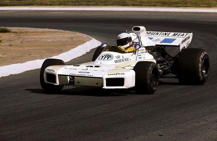 FOTO: Ya es el año '72, ya es piloto Brabham y su nuevo jefe se llama Bernie Ecclestone