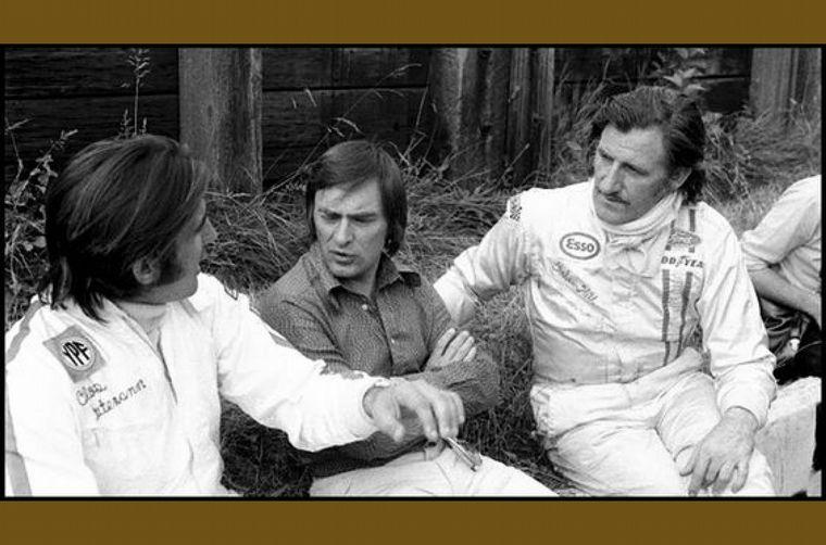 FOTO: Debutando con el Brabham BT34 en el Gran Premio de Argentina de 1972