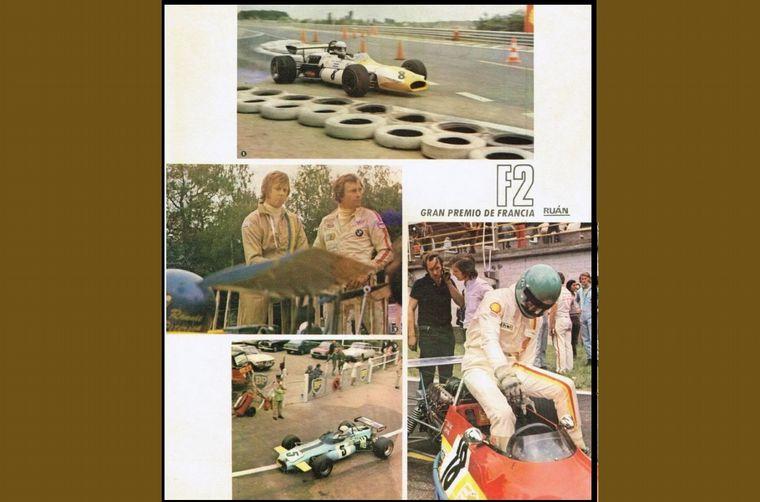 FOTO: Su máximo rival, Ronnie Peterson con el March 711 oficial