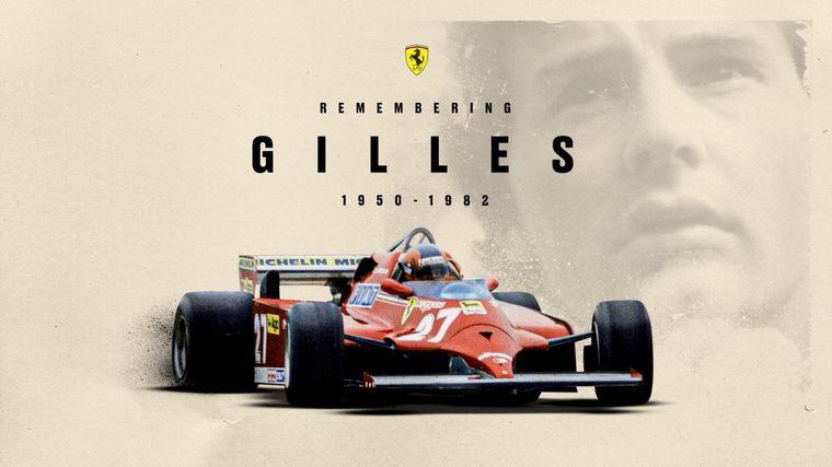 FOTO: También Reutemann forjó una gran amistad con Giles, fueron compañeros en Ferrari