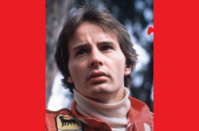 FOTO: Giles Villeneuve clasificando en Mónaco con la Ferrari