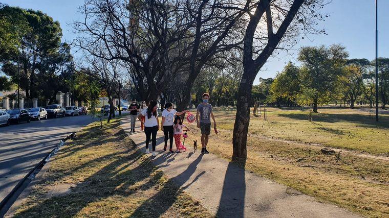 FOTO: Postales del primer día de salidas recreativas en Córdoba