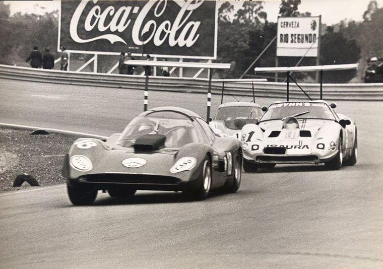 FOTO: Pascualini, Reutemann y los Huayra oficiales de Ford en el debut en Córdoba.