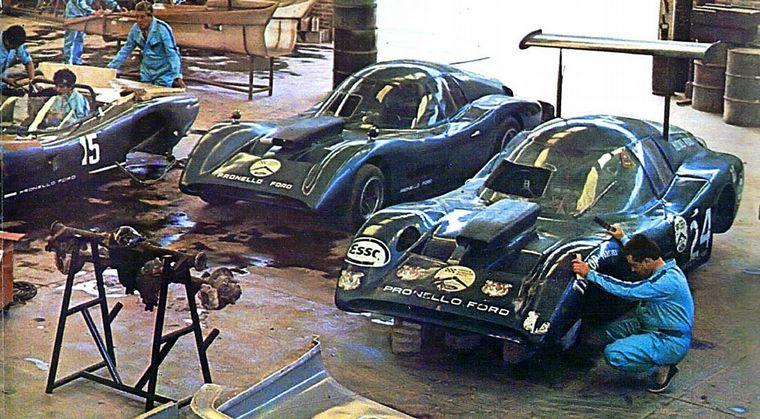 FOTO: Pascualini delante de Cupeiro (Baufer/Chevrolet) y Di Palma (Liebre/Tornado).