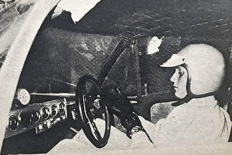"""FOTO: Marzo/1969, el Huayra Ford sale al primer ensayo en el """"Cabalén"""""""