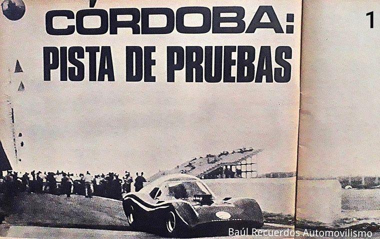 FOTO: Diciembre/1968, primeras imágenes del proyecto Huayra Ford en Villa Nueva (Cba)
