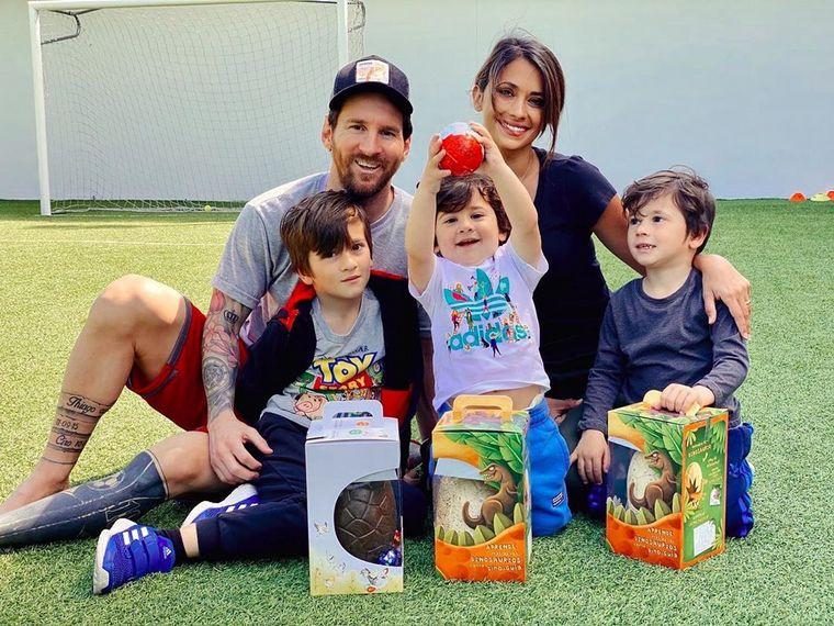 La cuarentena de Messi: juegos y diversión en familia