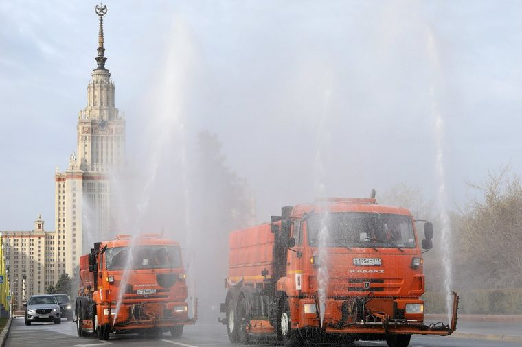 Rusia registra récord de muertos diarios por coronavirus