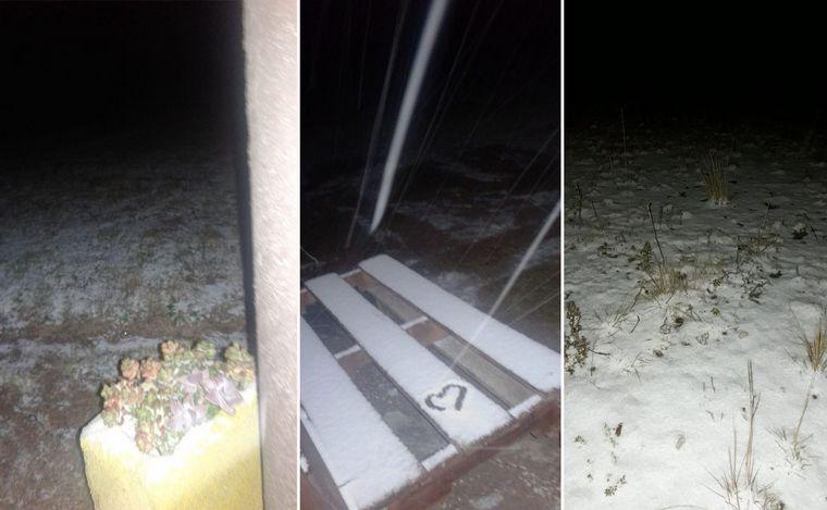 AUDIO: Frío y aguanieve en Traslasierra (Informe de Roberto Fontanari)