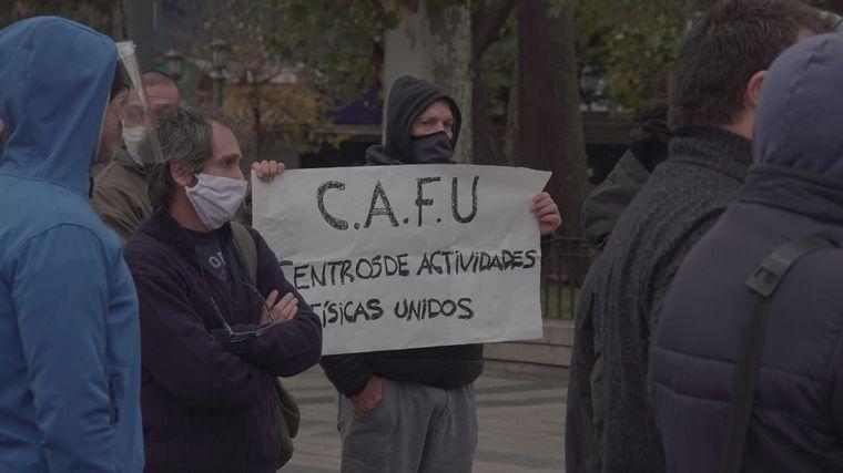 FOTO: Comerciantes de Córdoba piden por la reapertura de negocios