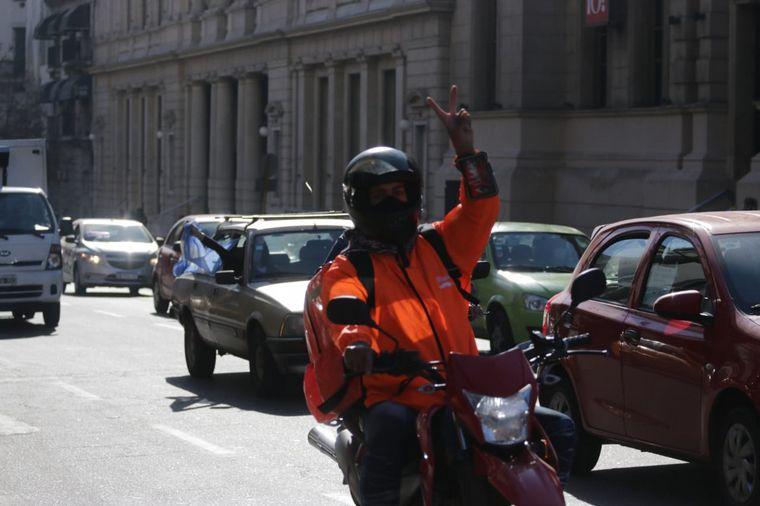 FOTO: Autazo en contra de la reforma previsional en Córdoba.