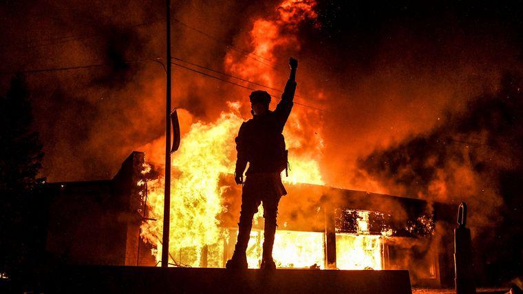 AUDIO: Las protestas se multiplican en EE.UU. (Foto: Chandan KHANNA / AFP)