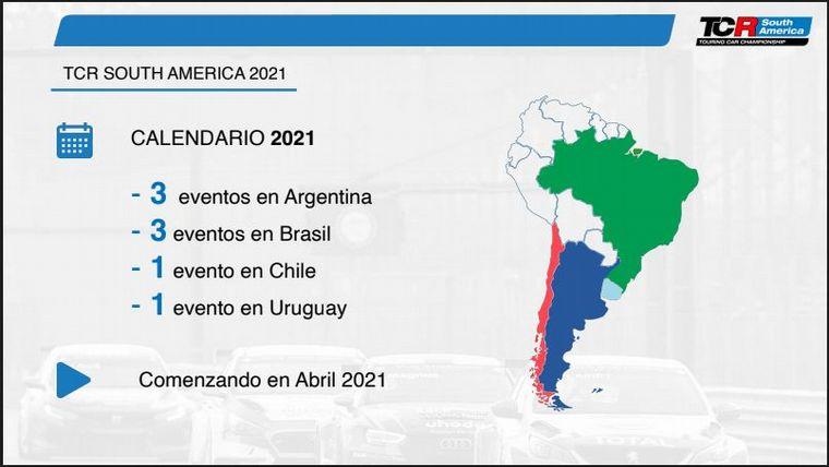 FOTO: TCR ahora busca proyectar su prestigio en Latino América.