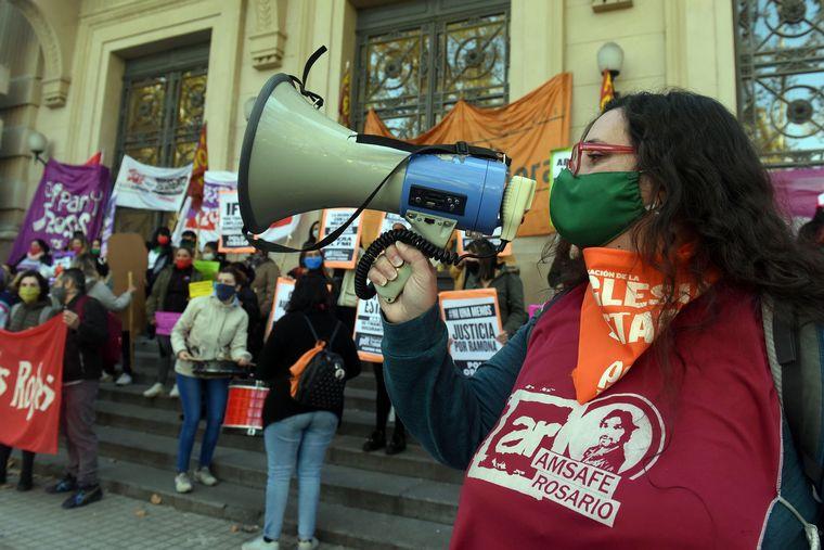 """FOTO: A cinco años del """"Ni Una Menos"""" hubo manifestaciones en varias ciudades del país."""