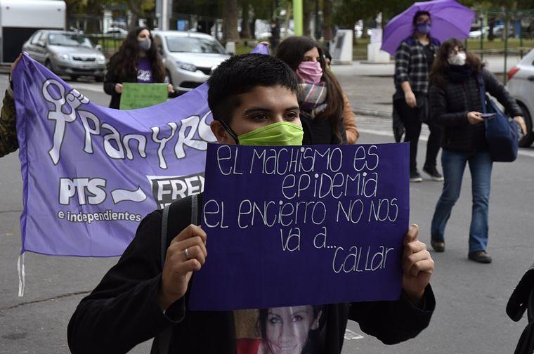 FOTO: Marcha Ni una Menos en Rosario