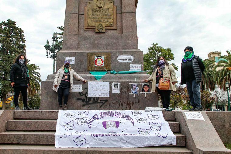 FOTO: Marcha Ni una Menos en La Pampa.