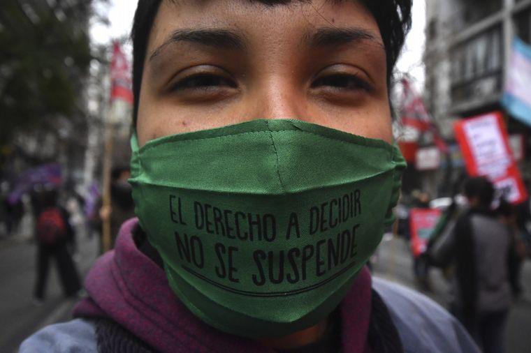 FOTO: Marcha Ni una Menos en Córdoba.