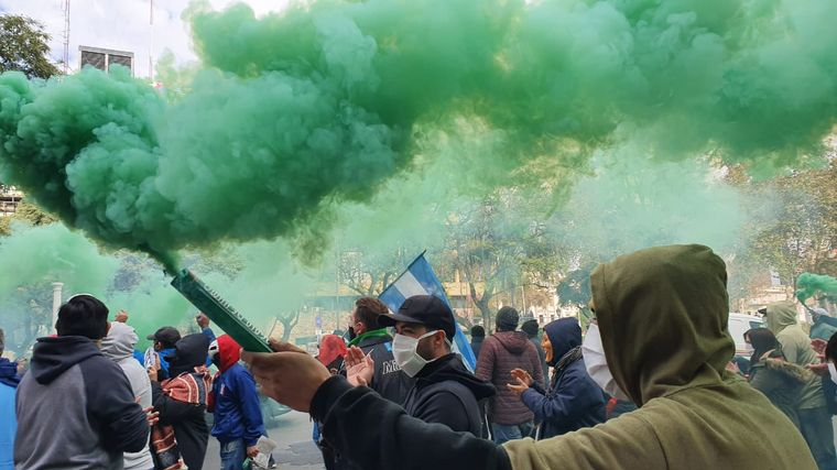 FOTO: Protesta del Suoem en Córdoba