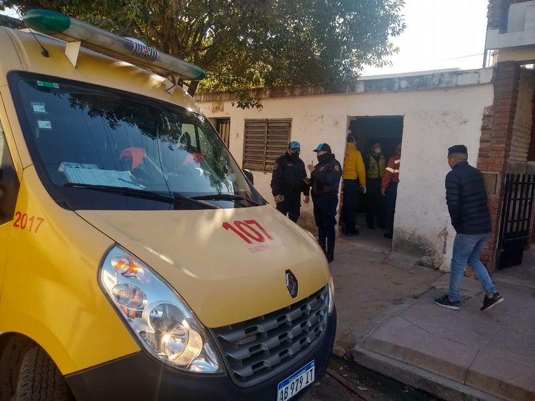 AUDIO: Cuatro heridos por un derrumbe en una obra en Córdoba