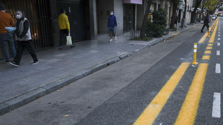 FOTO: Los porteños se volcaron masivamente a hacer actividad física en Buenos Aires.
