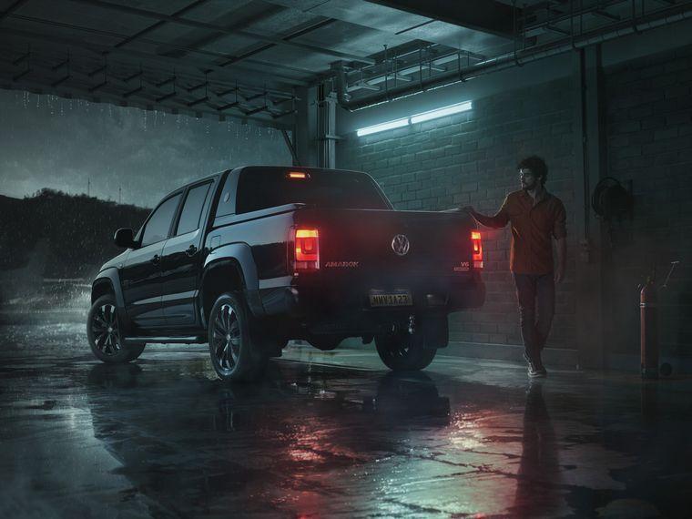 """FOTO: La nueva Amarok de VW, """"La mas indomable""""."""