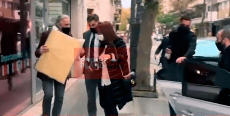 FOTO: Cristina Fernández rechaza cuadro a Santoro