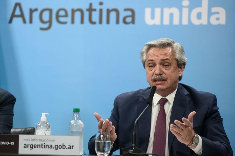 FOTO: Fernández recibió en Olivos al CEO de Vicentin.