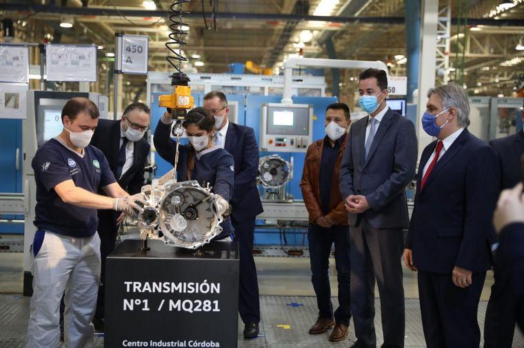 AUDIO: Con Kulfas, Volkswagen inauguró otra línea de cajas