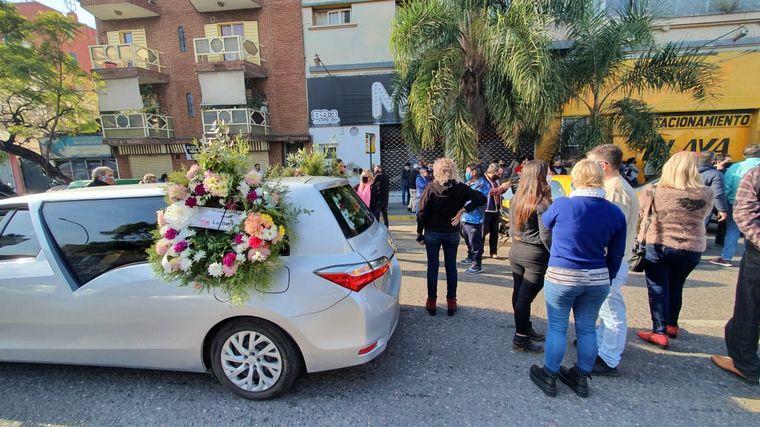 FOTO: Último adiós a Eduardo Gelfo
