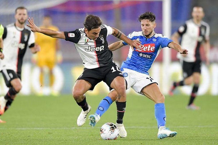 FOTO: Napoli se coronó campeón.
