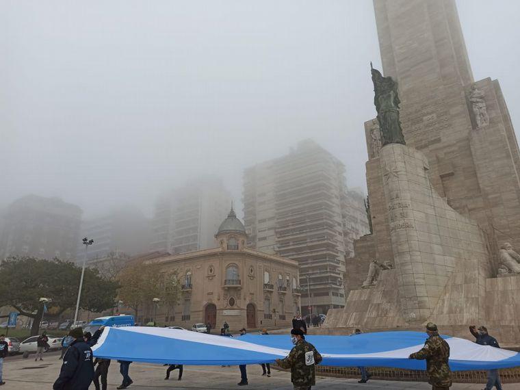 FOTO: Día de la Bandera en Rosario