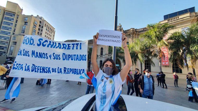 FOTO: Movilización en Córdoba en contra de la expropiación de Vicentin