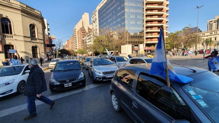 AUDIO: Protesta por la expropiación de Vicentin en Bell Ville