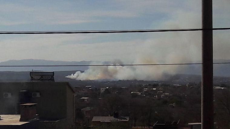 FOTO: Incendio en Bialet Masse