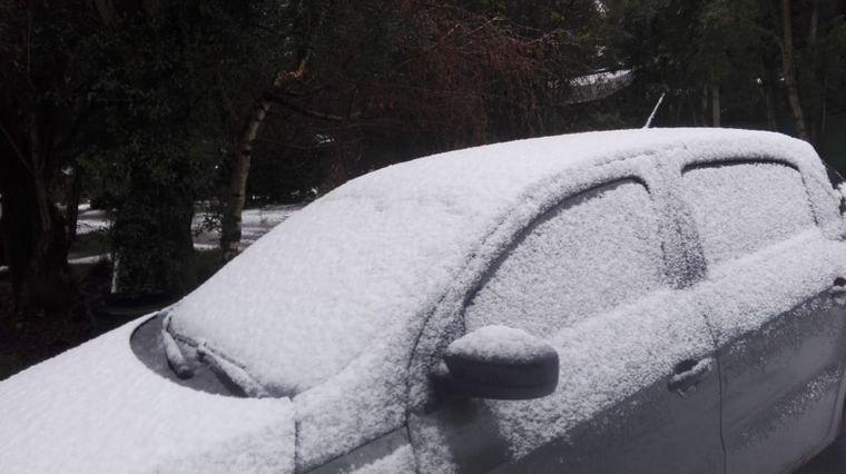 AUDIO: Temporal de nieve en Malargüe