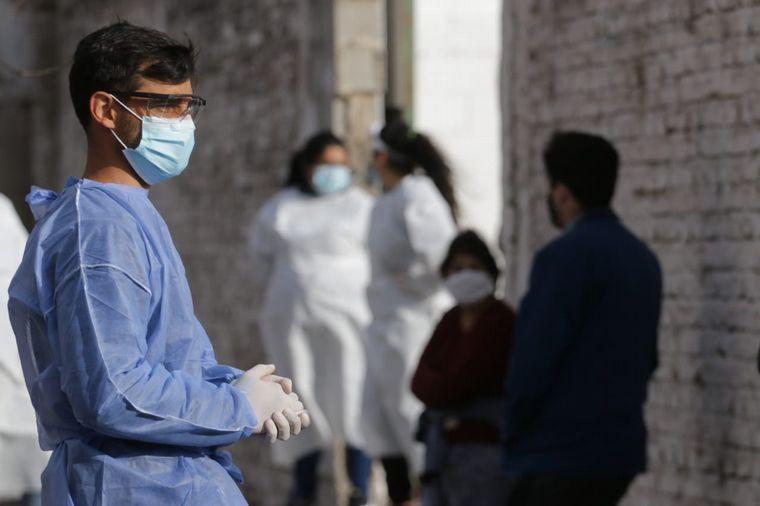 FOTO: Cordón sanitario en barrio Rivadavia de Córdoba.