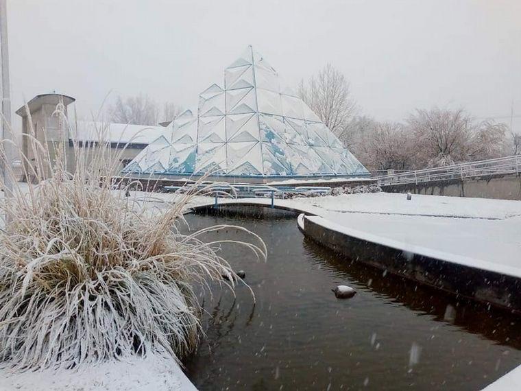 AUDIO: Las imágenes que dejó una intensa nevada en Mendoza