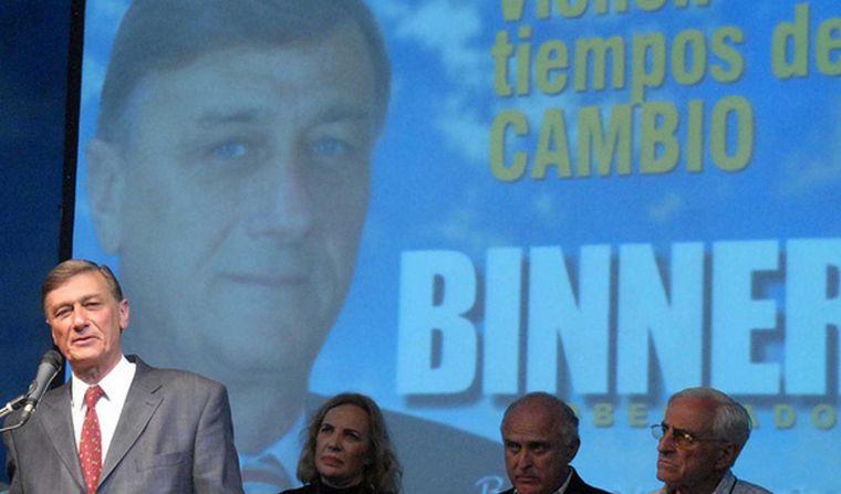 FOTO: Hermes Binner fue un referente del Socialismo en Argentina.