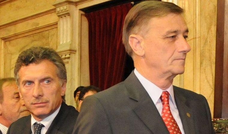 FOTO: Hermes Binner junto a Cristina Kirchner.