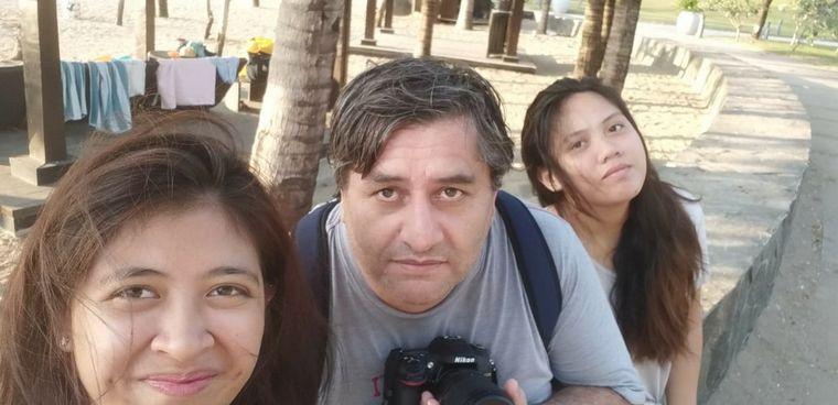 AUDIO: Nació en Tucumán, pero es cordobés por adopción y lleva una nueva vida en Filipinas