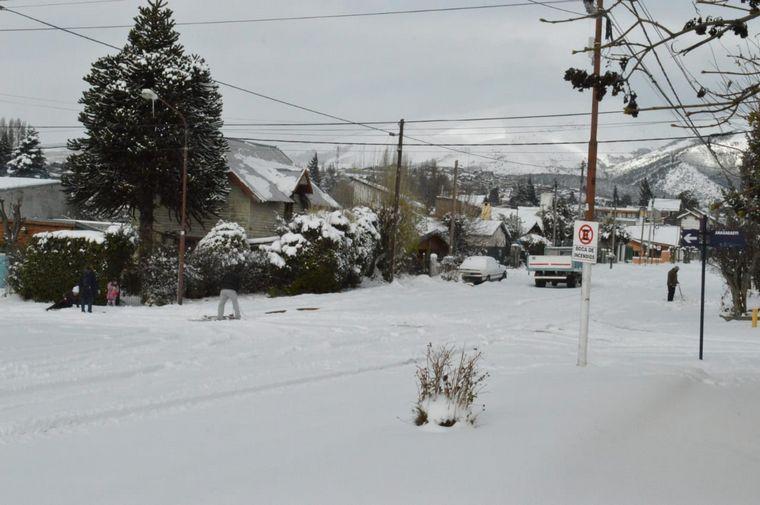 FOTO: Nieve en Baroliche