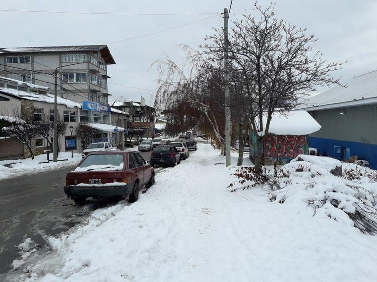 FOTO: Nieve en Bariloche.
