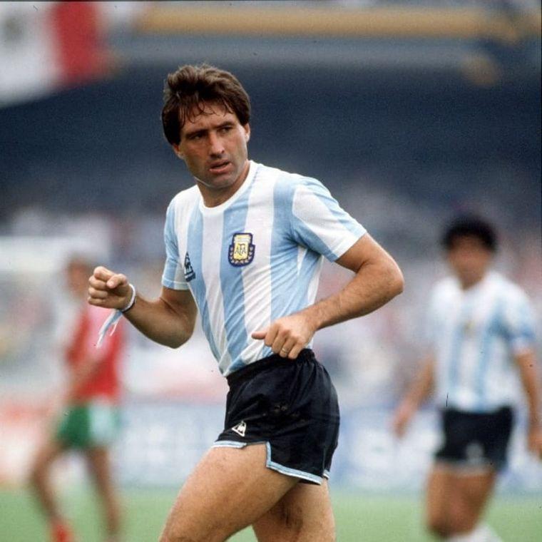 FOTO: Oscar Garré, campeón en México 86