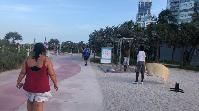 Disponen toque de queda en Miami por nueva ola de contagios