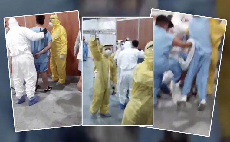 Video: incidentes en el Centro de Aislamiento Costa Salguero ...