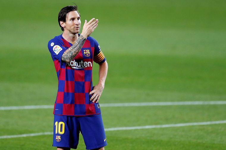 FOTO: Messi marcó su gol 700 con un exquisito penal (Foto: La Liga)