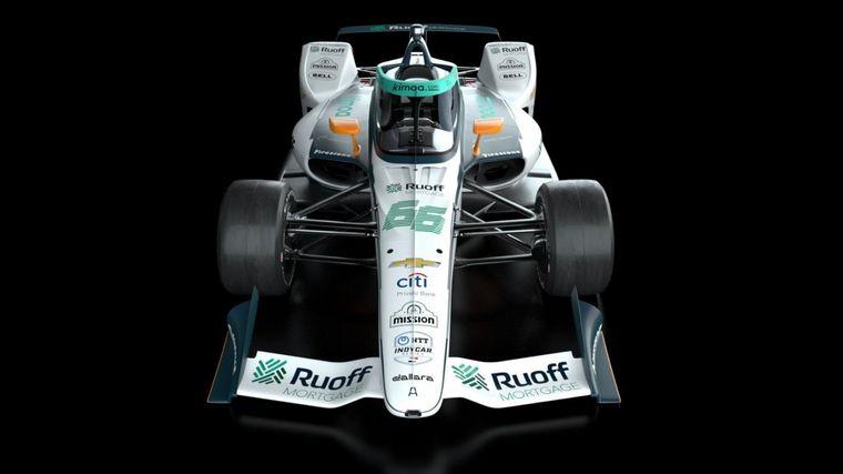 FOTO: El auto de Fernando Alonso ya tiene su decoración para las 500 Millas