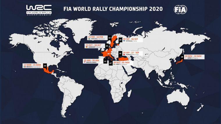 FOTO: El Rally Estonia -3 al 5 de septiembre- reabrirá el FIA WRC