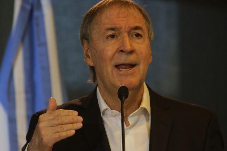 FOTO: Juan Schiaretti, gobernador de Córdoba.