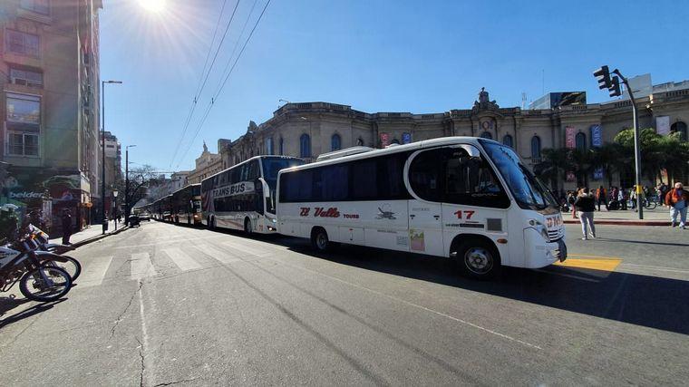 AUDIO: Jornada de protesta en Córdoba: choferes,comerciantes, agencias de viaje y Suoem